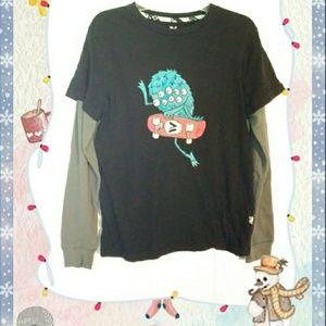 Shaun White Long Sleeve Monster Shirt